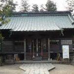 神炊館神社に行ってきました。