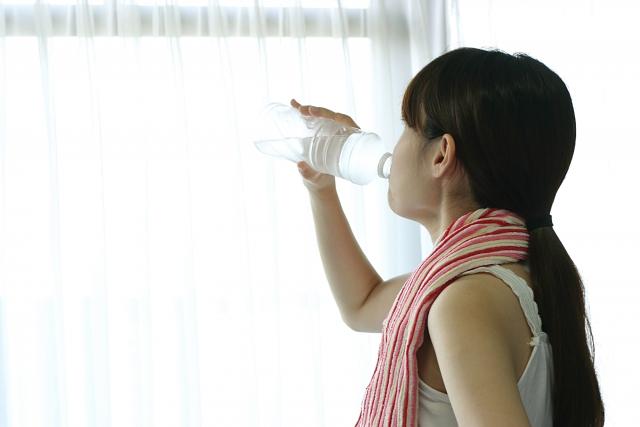 須賀川整体院、水分摂取