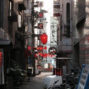 路地裏、須賀川整体院